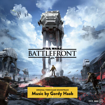 Cover art for Star Wars: Battlefront (Original Video Game Soundtrack)