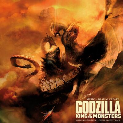 Cover art for Godzilla: King of the Monsters (Original Motion Picture Soundtrack) (Godzilla Colored Vinyl Variant)