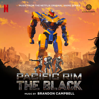 Cover art for Pacific Rim: The Black (Music from the Netflix Original Anime Series)