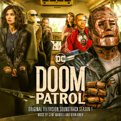 Cover art for Doom Patrol: Season 1 (Original Television Soundtrack)