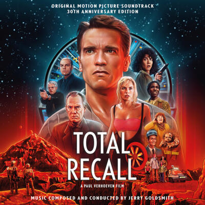 Cover art for Total Recall: 30th Anniversary Edition (Original Motion Picture Soundtrack)