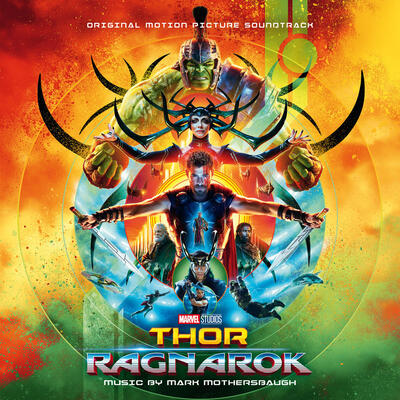 Cover art for Thor: Ragnarok (Original Motion Picture Soundtrack)