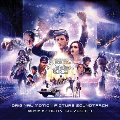 Cover art for Ready Player One (Original Motion Picture Soundtrack)