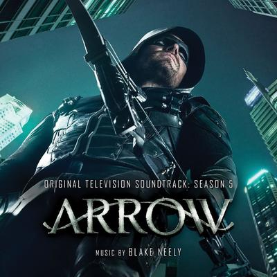 Cover art for Arrow: Season 5 (Original Television Soundtrack)