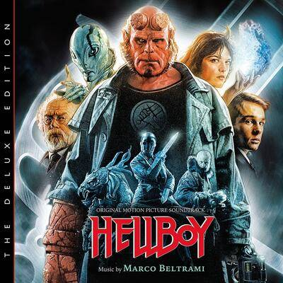 Cover art for Hellboy: The Deluxe Edition (Original Motion Picture Soundtrack)