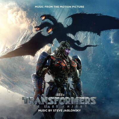 Cover art for Transformers: The Last Knight (Music From The Motion Picture)