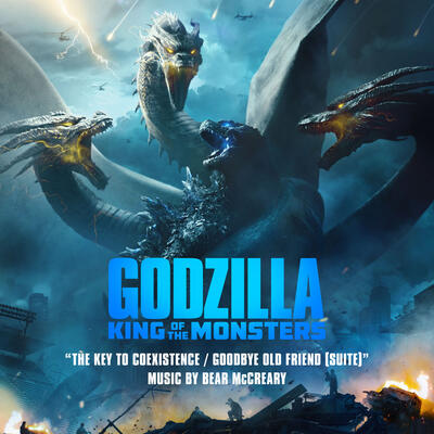 Cover art for The Key to Coexistence / Goodbye Old Friend (From Godzilla: King of the Monsters: Original Motion Picture Soundtrack)