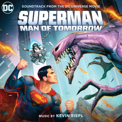 Cover art for Superman: Man of Tomorrow (Soundtrack from the DC Universe Movie)