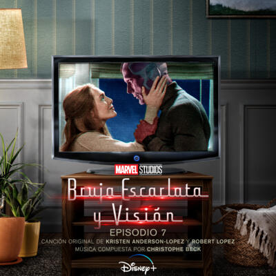 Cover art for Bruja Escarlata y Visión: Episodio 7 (Banda Sonora Original)