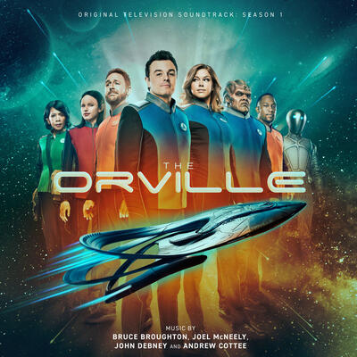 Cover art for The Orville: Season 1 (Original Television Soundtrack)