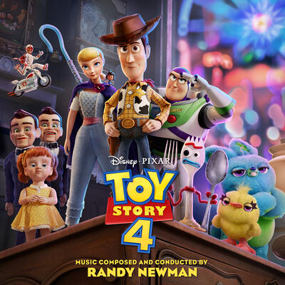 Cover art for Toy Story 4 (Original Motion Picture Soundtrack)