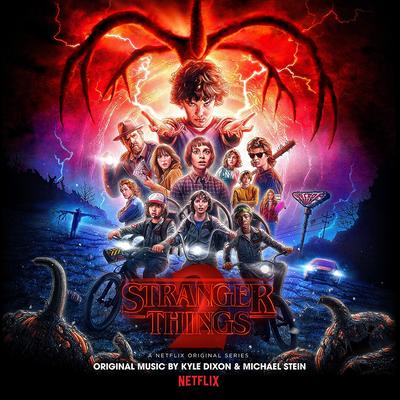 Cover art for Stranger Things 2 (A Netflix Original Series Soundtrack) (Upside Down Inter-Dimensional Blue Vinyl Variant)