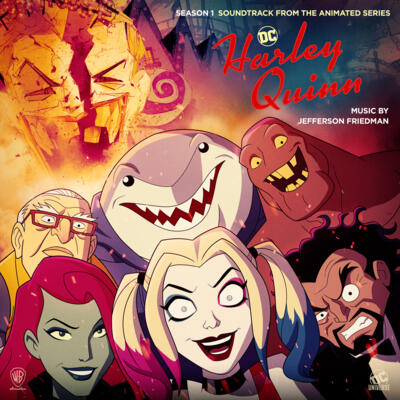 Cover art for Harley Quinn: Season 1 (Soundtrack from the Animated Series)