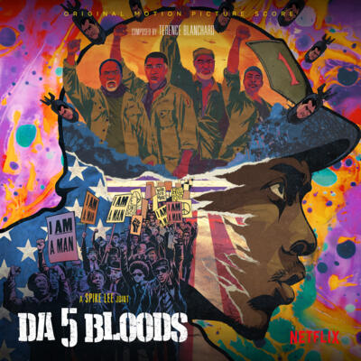Cover art for Da 5 Bloods (Original Motion Picture Score)