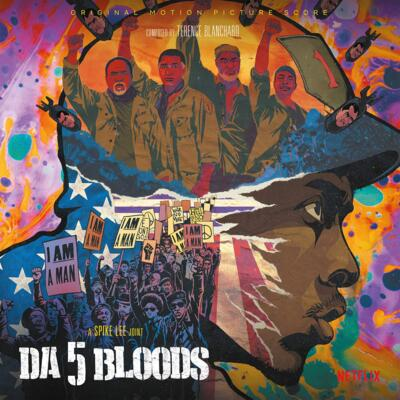 Cover art for Da 5 Bloods (Original Motion Picture Score) (Red Vinyl Variant)