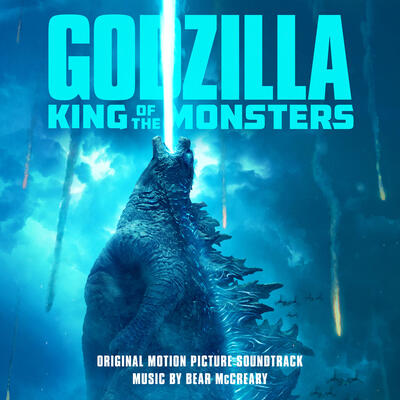 Cover art for Godzilla: King of the Monsters (Original Motion Picture Soundtrack)