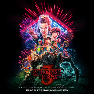 Cover art for Stranger Things 3 (Original Score From the Netflix Original Series)