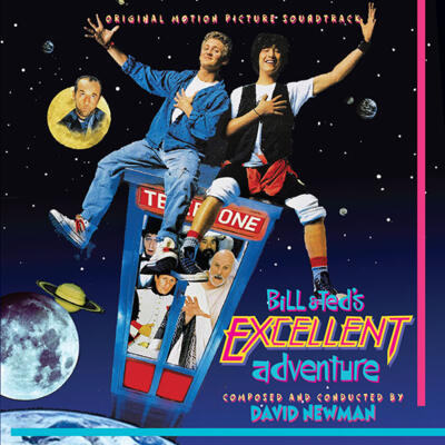 Cover art for Bill & Ted's Excellent Adventure (Original Motion Picture Soundtrack)