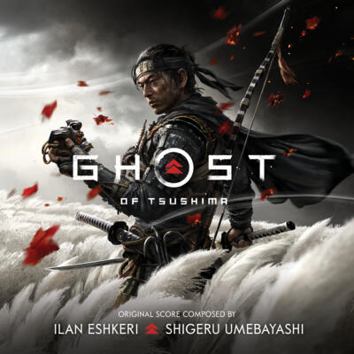 Cover art for Ghost of Tsushima (Music from the Video Game)