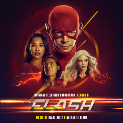 Cover art for The Flash: Season 6 (Original Television Soundtrack)