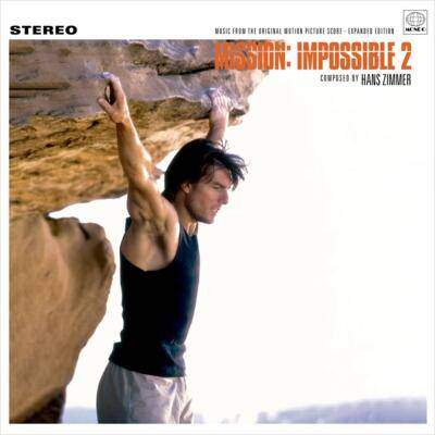 Cover art for Mission: Impossible 2 (Music From The Original Motion Picture Score - Expanded Edition) (Fire Colored Vinyl Variant)