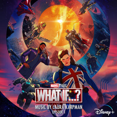 Cover art for What If…Captain Carter Were The First Avenger? (Original Soundtrack)