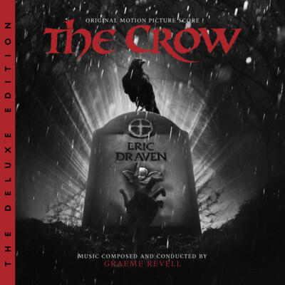 Cover art for The Crow: The Deluxe Edition (Original Motion Picture Score)