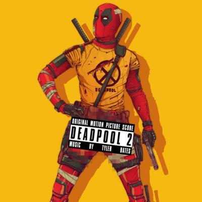 Cover art for Deadpool 2 (Original Motion Picture Score) (Red with Black Stripe Vinyl Variant)