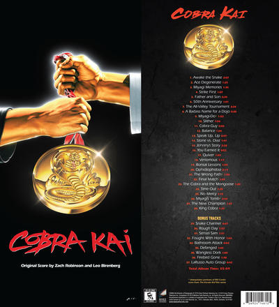 Cover art for Cobra Kai (Original Score) (Longbox)
