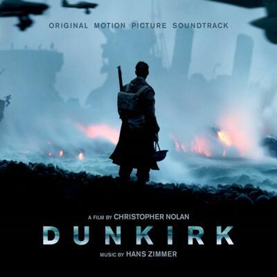 Cover art for Dunkirk (Original Motion Picture Soundtrack) (Transparent Blue Vinyl Variant)