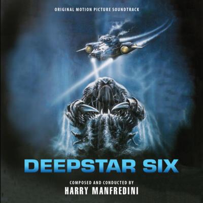 Cover art for DeepStar Six (Original Motion Picture Soundtrack)