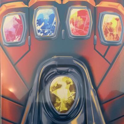 Cover art for Avengers: Infinity War + Endgame Box Set (Infinity Stone Vinyl Variant)