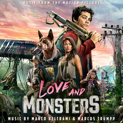 Cover art for Love and Monsters (Music from the Motion Picture)