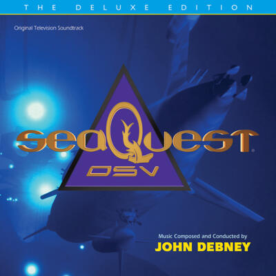 Cover art for SeaQuest DSV: The Deluxe Edition (Original Television Soundtrack)