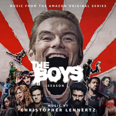 Cover art for The Boys: Season 2 (Music From The Amazon Original Series)