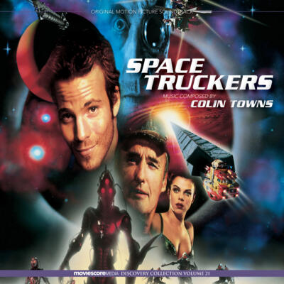 Cover art for Space Truckers (Original Motion Picture Soundtrack)