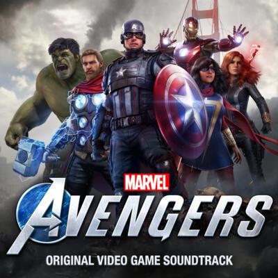 Cover art for Marvel's Avengers (Original Video Game Soundtrack)
