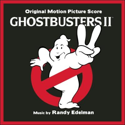 Cover art for Ghostbusters II (Original Motion Picture Score)