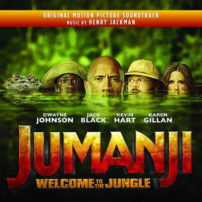 Cover art for Jumani: Welcome to the Jungle (Original Motion Picture Soundtrack)