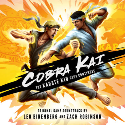 Cover art for Cobra Kai: The Karate Kid Saga Continues (Original Game Soundtrack)