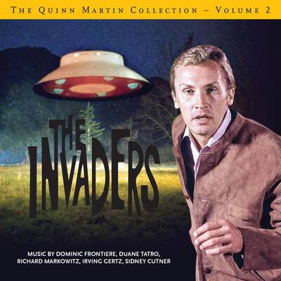 Cover art for The Quinn Martin Collection - Volume 2: The Invaders
