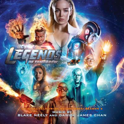 Cover art for DC's Legends of Tomorrow: Season 3 (Original Television Soundtrack)