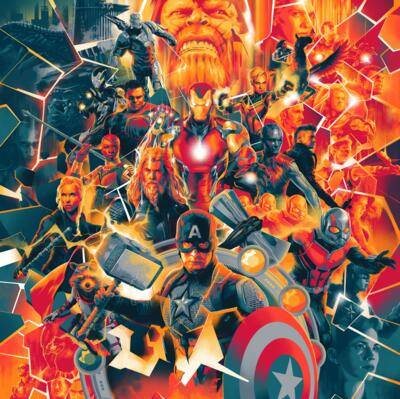 Cover art for Avengers: Endgame (Original Motion Picture Soundtrack)