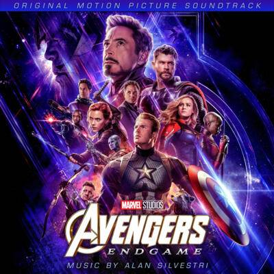 Cover art for Avengers: Endgame (Original Motion Picture Soundtrack)